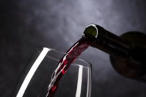 Le vin rouge bourguignon